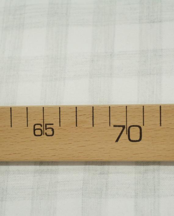 Последний отрез-1.8м Хлопок Рубашечный Фланелька 12879 цвет серый клетка картинка 2