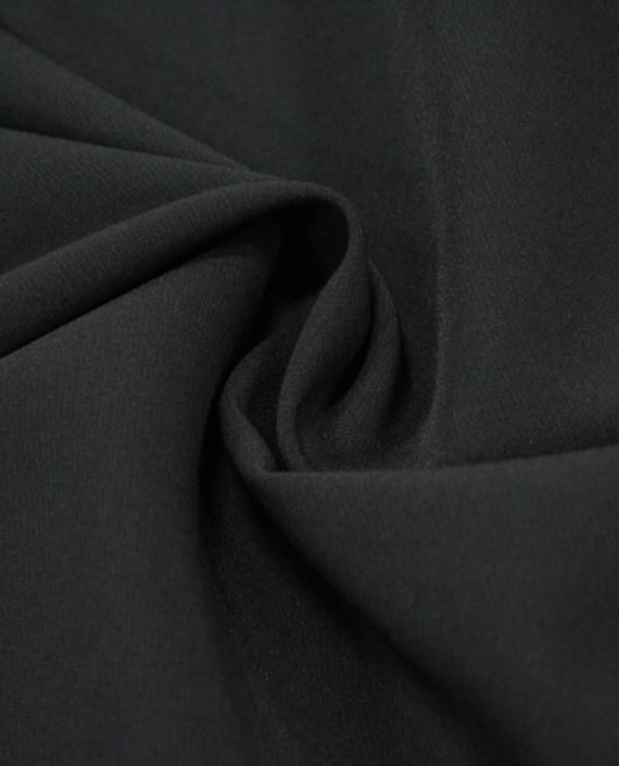 Ткань Костюмная 1047 цвет черный картинка
