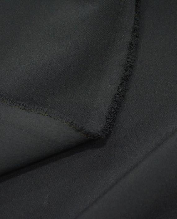 Ткань Костюмная 1047 цвет черный картинка 1