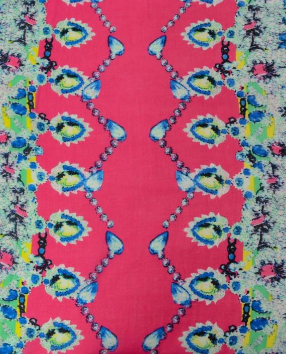 Шифон принт 0571 цвет разноцветный абстрактный картинка