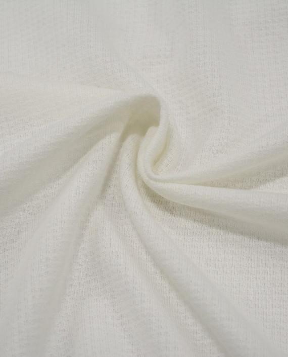 Трикотаж Хлопковый 2988 цвет белый клетка картинка