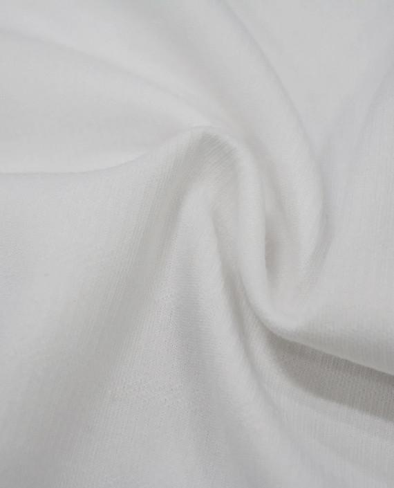 Трикотаж Хлопковый 2995 цвет белый картинка