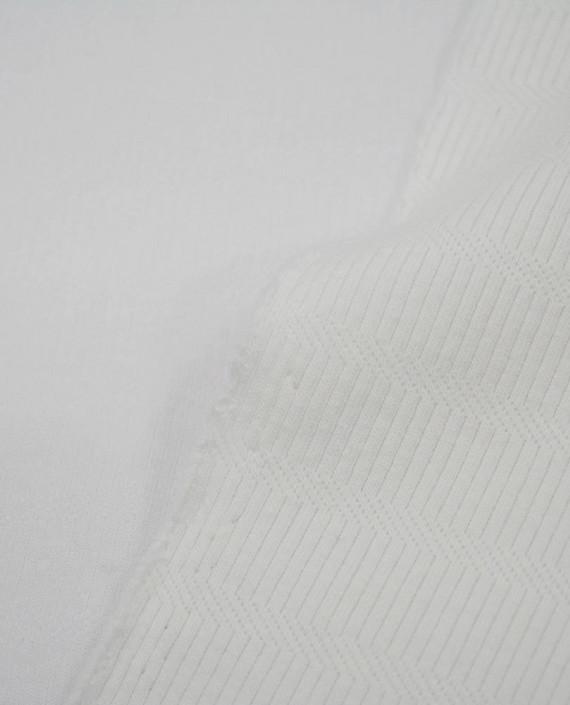 Трикотаж Хлопковый 2995 цвет белый картинка 2
