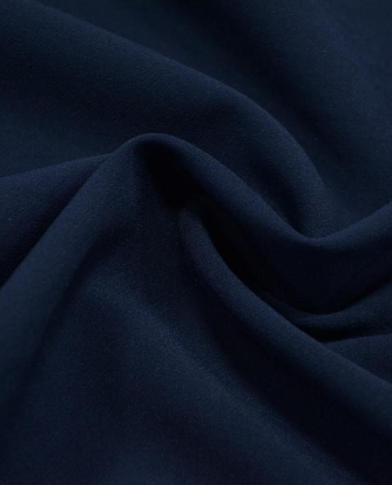 Ткань Костюмная 1053 цвет синий картинка