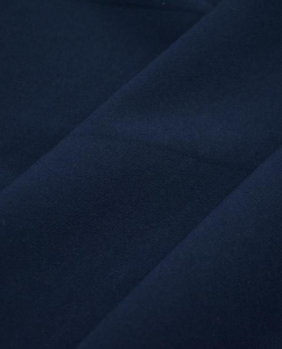 Ткань Костюмная 1053 цвет синий картинка 2