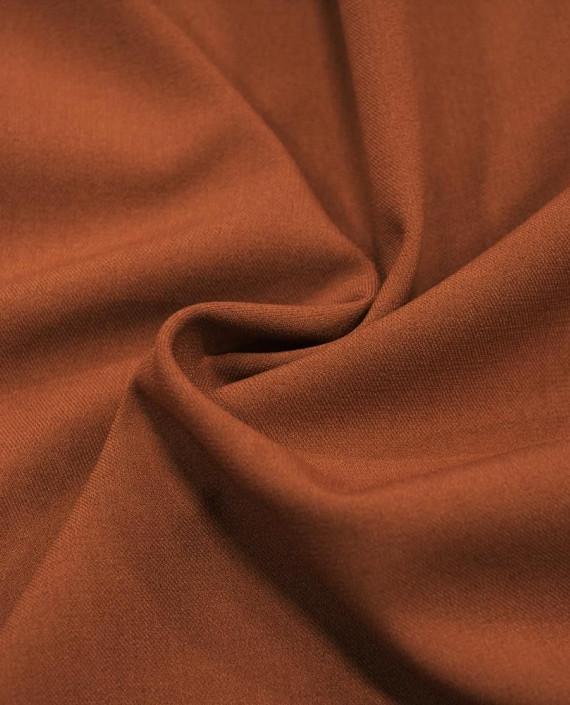 Ткань Костюмная 1054 цвет коричневый картинка