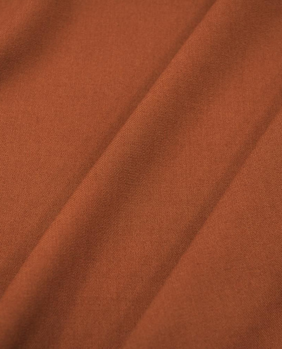 Ткань Костюмная 1054 цвет коричневый картинка 2