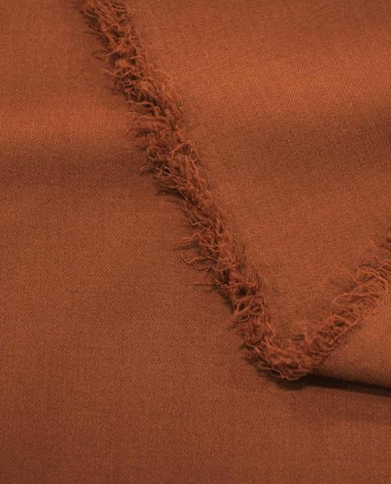 Ткань Костюмная 1054 цвет коричневый картинка 1