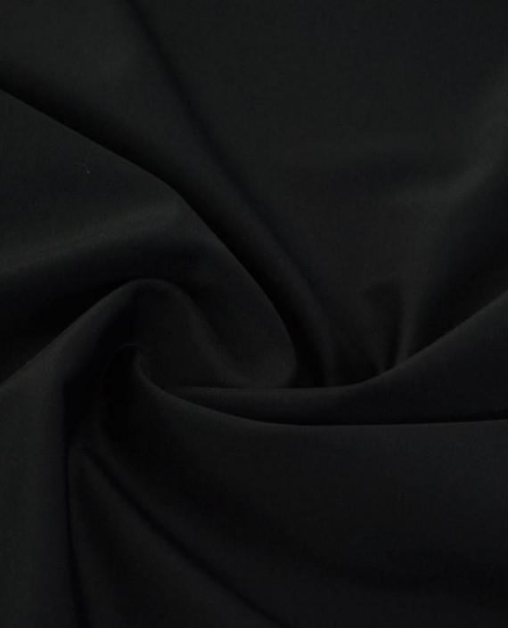 Последний отрез-1м Ткань Бифлекс Atlanta Plus Nero  картинка 1