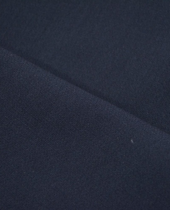 Креп костюмный 1059 цвет синий картинка 2