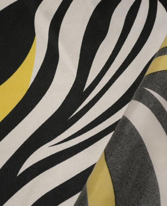 Ткань Атлас Принт 160 цвет разноцветный анималистический картинка 1