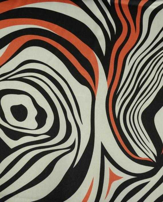 Ткань Атлас Принт 164 цвет разноцветный анималистический картинка