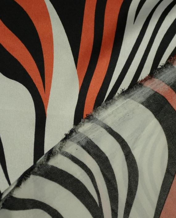 Ткань Атлас Принт 164 цвет разноцветный анималистический картинка 1