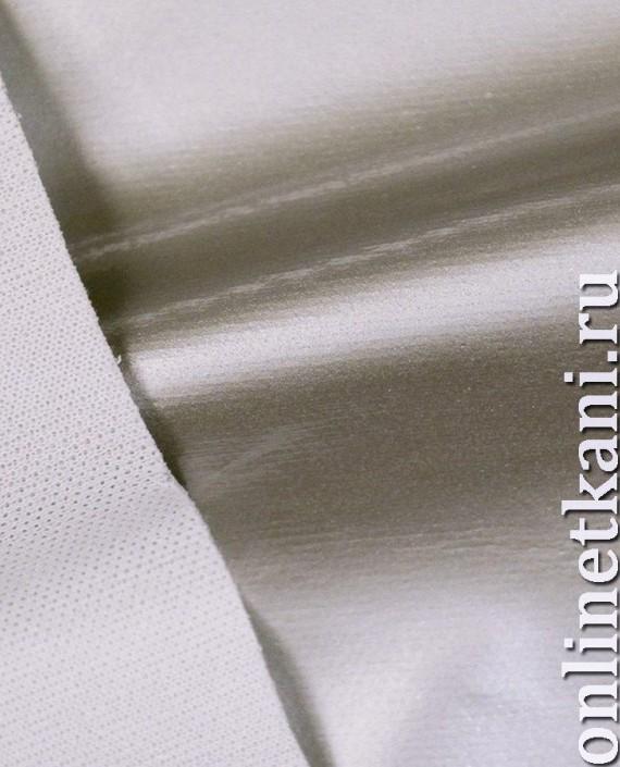 Ткань Лаке 248 цвет серебро картинка 2
