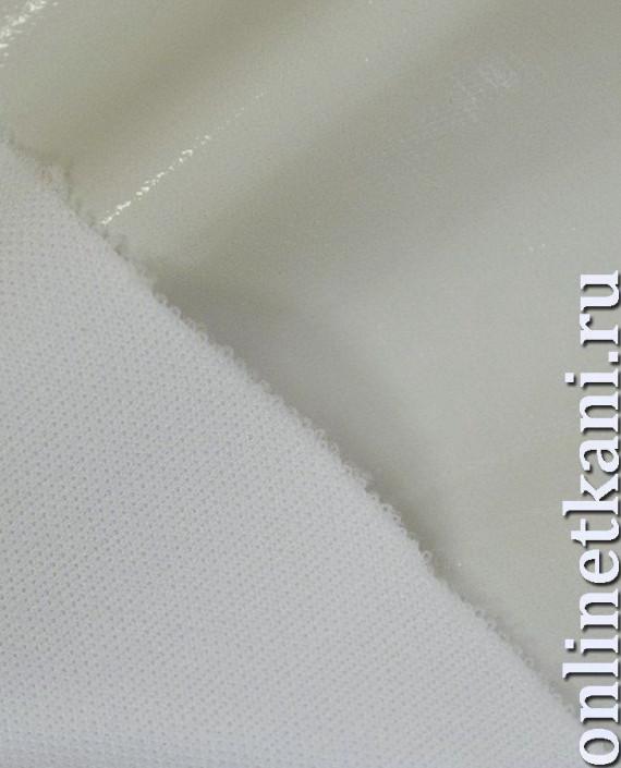 Ткань Лаке 232 цвет белый картинка 1