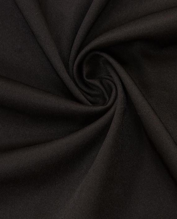 Костюмная ткань 1048 цвет черный картинка