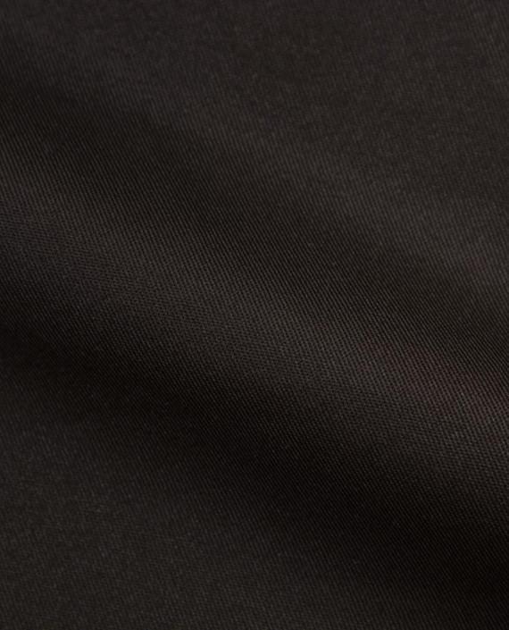 Костюмная ткань 1048 цвет черный картинка 2