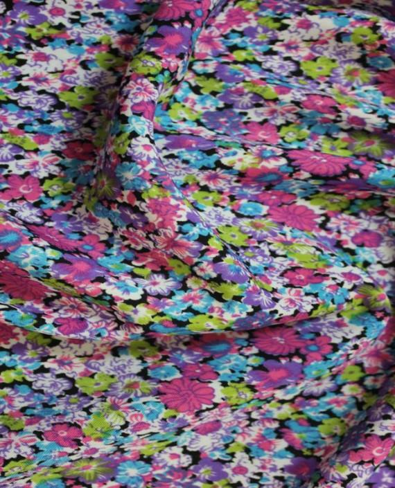 """Ткань Лоренсо """"Цветущее поле"""" 010 цвет разноцветный цветочный картинка 2"""