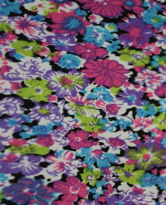 """Ткань Лоренсо """"Цветущее поле"""" 010 цвет разноцветный цветочный картинка 1"""
