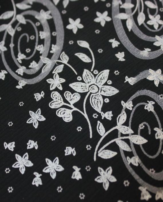 """Ткань Лоренсо """"Темные огурцы"""" 017 цвет серый абстрактный картинка 1"""