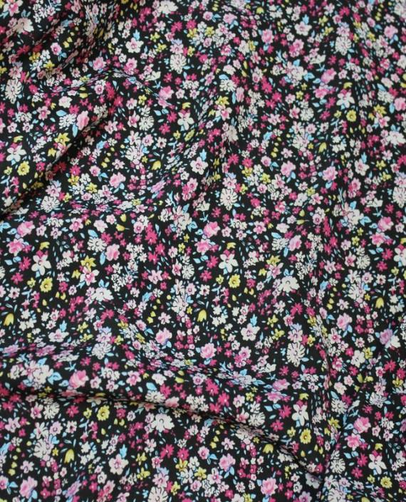 """Ткань Лоренсо """"Полевые цветы"""" 019 цвет разноцветный цветочный картинка"""
