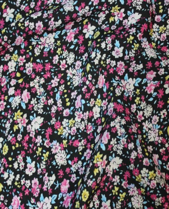 """Ткань Лоренсо """"Полевые цветы"""" 019 цвет разноцветный цветочный картинка 1"""