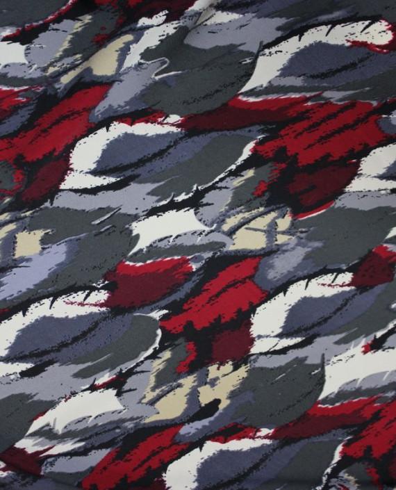 """Ткань Лоренсо """"Экспромт"""" 029 цвет серый абстрактный картинка"""