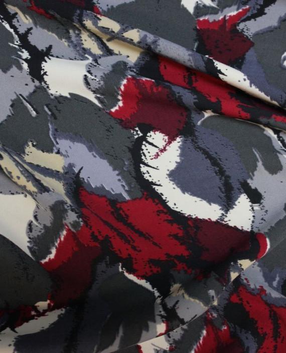"""Ткань Лоренсо """"Экспромт"""" 029 цвет серый абстрактный картинка 1"""