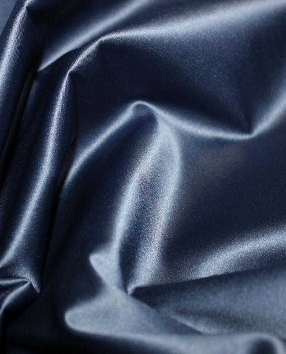 """Ткань Атлас """"Полуночно синий"""" картинка"""