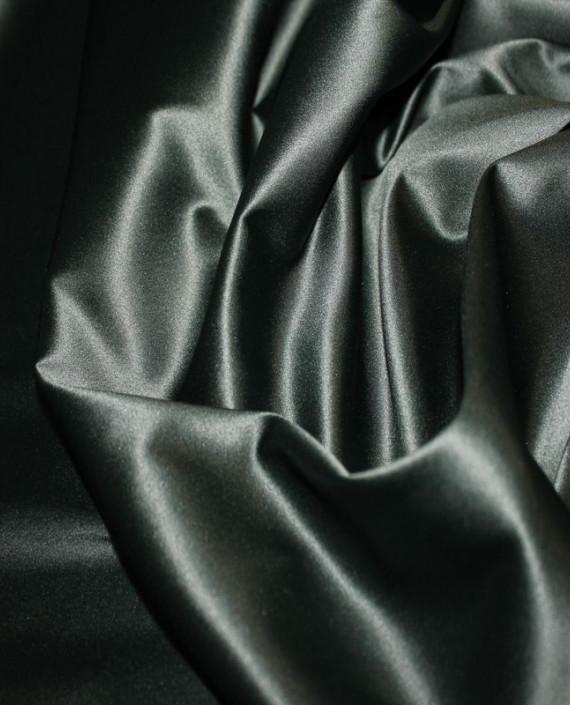 """Ткань Атлас """"Темно Зеленый"""" 016 цвет зеленый картинка"""