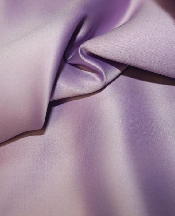 """Ткань Атлас """"Аметистовый"""" 017 цвет сиреневый картинка"""