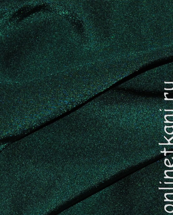 "Ткань Бифлекс ""Папоротник"" 0020 цвет зеленый картинка 3"