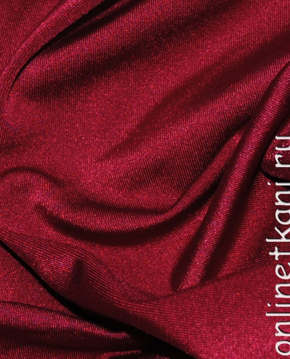 "Ткань Бифлекс ""Бордо"" 0024 цвет бордовый картинка"