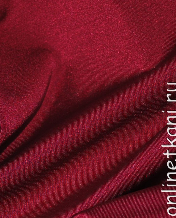 "Ткань Бифлекс ""Бордо"" 0024 цвет бордовый картинка 1"