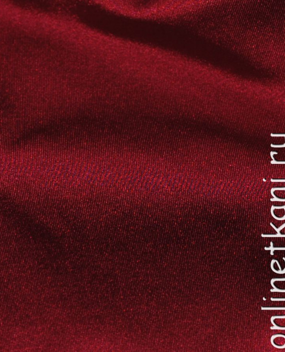 "Ткань Бифлекс ""Бордо"" 0024 цвет бордовый картинка 4"