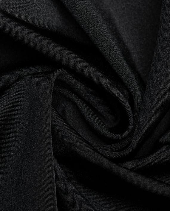 """Ткань Бифлекс """"Черный"""" 0009 цвет черный картинка"""