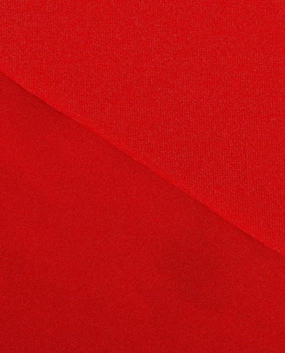 "Ткань Бифлекс ""Кардинал"" 0001 цвет красный картинка 2"