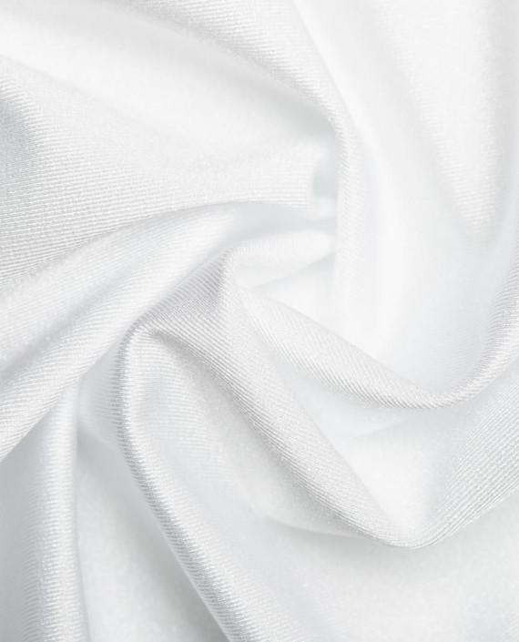 "Ткань Бифлекс ""Белый"" 0005 цвет белый картинка"