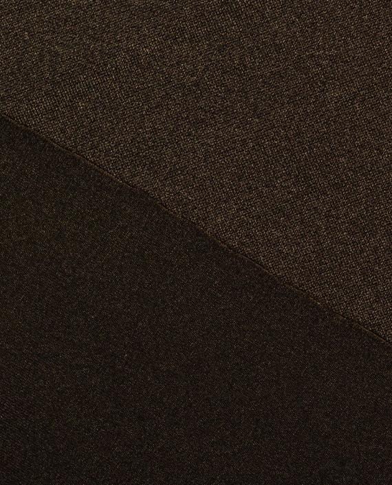 """Ткань Бифлекс """"Бурый"""" 0015 цвет коричневый картинка 2"""