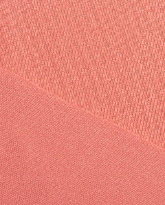 """Ткань Бифлекс """"Коралловый"""" 0019 цвет розовый картинка 2"""