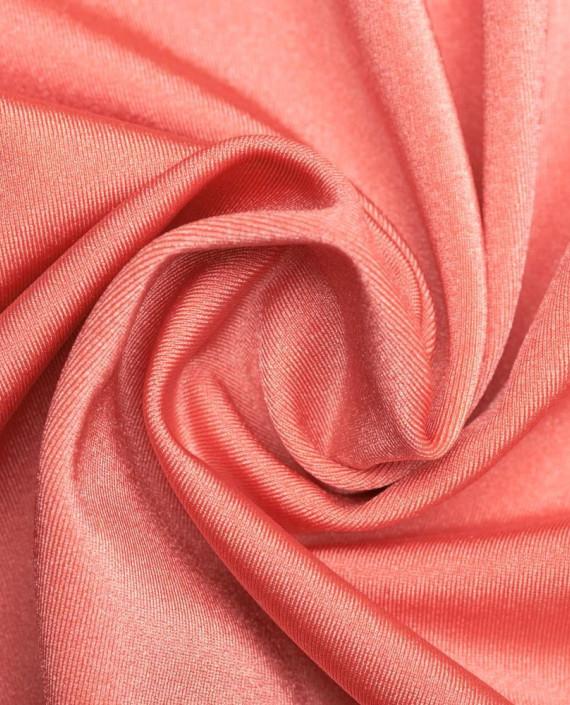 """Ткань Бифлекс """"Коралловый"""" 0019 цвет розовый картинка"""