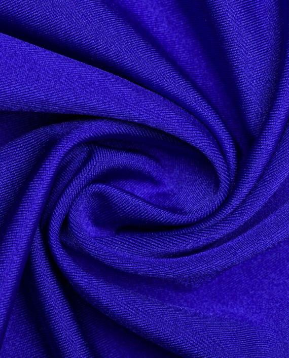 """Ткань Бифлекс """"Ультрамарин"""" 0002 цвет синий картинка"""