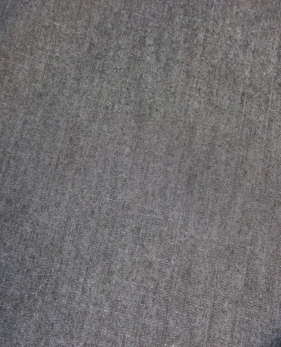"""Ткань Джинс """"Мокрый асфальт"""" 003 цвет серый картинка"""