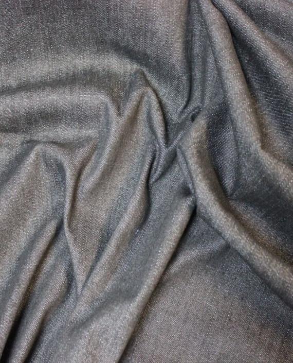 """Ткань Джинс """"Мокрый асфальт"""" 003 цвет серый картинка 1"""