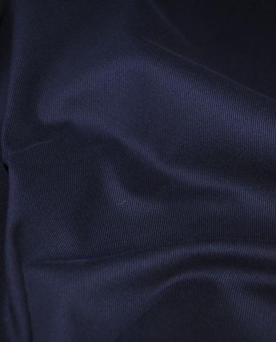 """Ткань Джинс """"Темно-синий"""" картинка 1"""