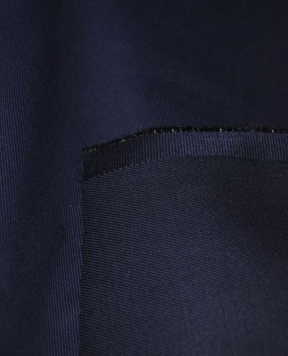 """Ткань Джинс """"Темно-синий"""" картинка 2"""