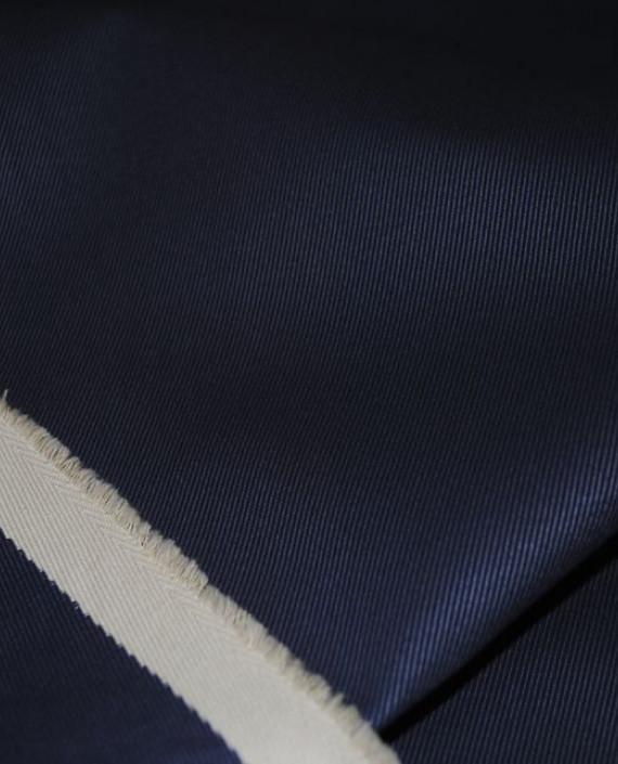 """Ткань Джинс """"Синее и Белое"""" 0004 цвет синий картинка 2"""