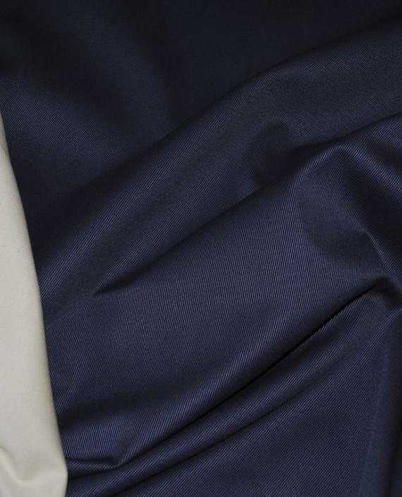 """Ткань Джинс """"Синее и Белое"""" 0004 цвет синий картинка 1"""