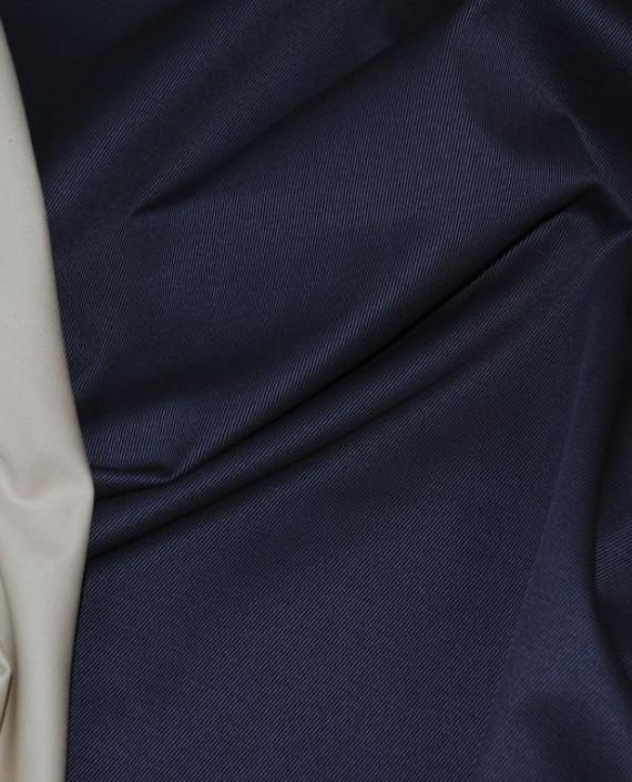 """Ткань Джинс """"Синее и Белое"""" 0004 цвет синий картинка"""