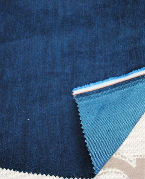 """Ткань Джинс """"Классический"""" 0005 цвет синий картинка"""